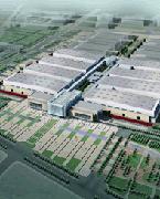 """新中国国际展览中心东临首都国际机场1.5公里,紧临天竺工业开发区与温榆河绿色生态走廊,规划地处于""""空港城""""公建商务园区内。展览馆主轴线与温榆河一脉相承,是温榆河生态走廊上又一绿色景点。"""