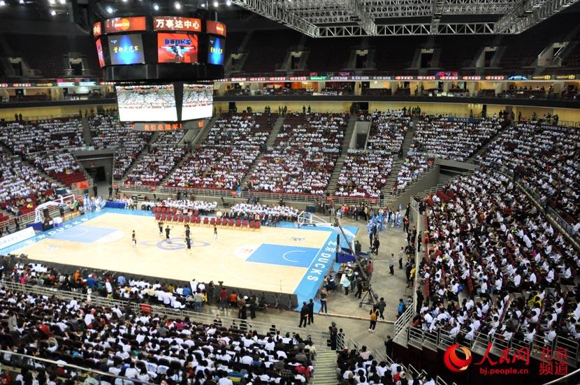 4月2日,北京万事达篮球中心,首钢