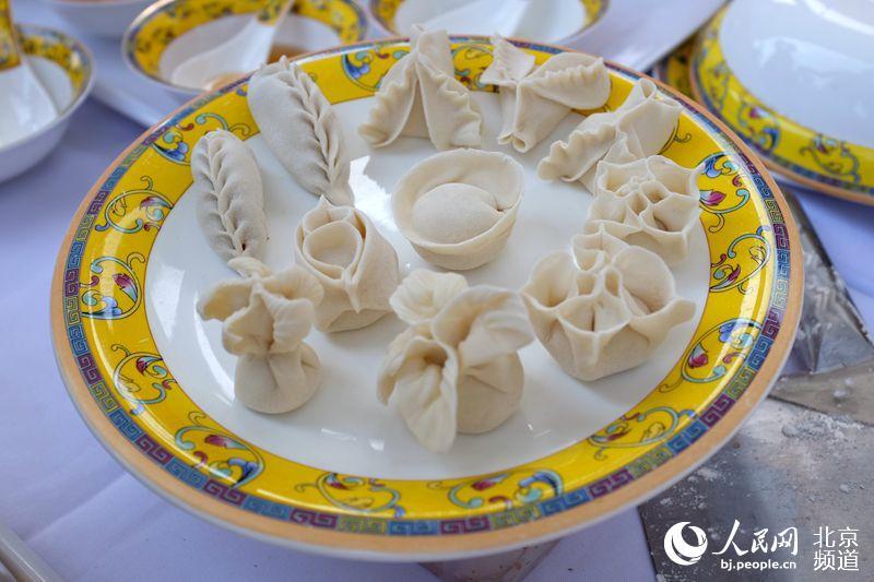 创意水饺制作精良,造型独特,吸睛指数爆表.人民网 孟竹 摄