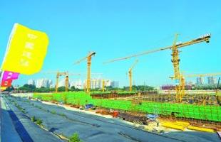 北京最大地埋式污水处理厂封顶 为通州新城最大再生水源