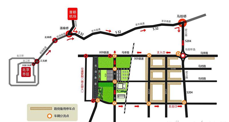 去北京路线行程设计图