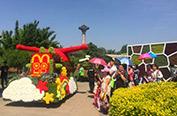 世界花卉大观园端午花车巡游