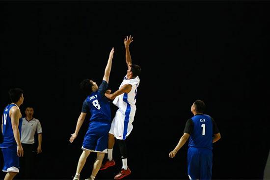 """628支篮球队角逐""""京和杯""""农牧民篮球赛"""