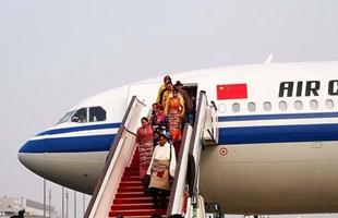 参加党的十九大的内蒙古代表团、西藏代表团抵京