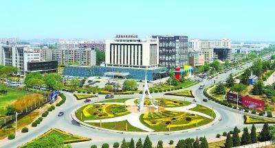 港城融合的国际航空中心核心区
