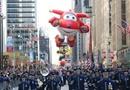 感恩节卡通人物满天飞