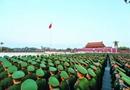 武警新战士观升旗仪式