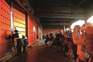 故宫去年接待观众1700万