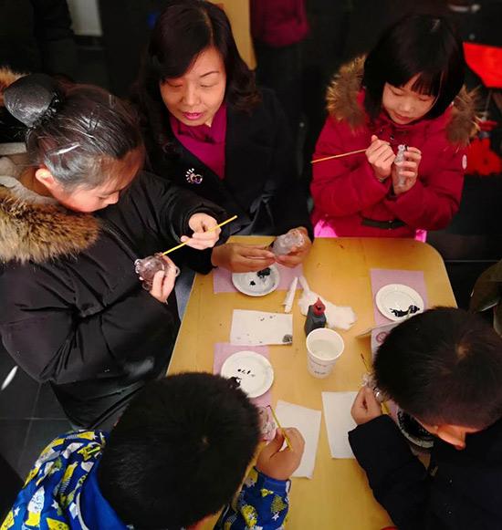 93号院博物馆胡同迎新庙会开幕市民享受原汁原味老北京