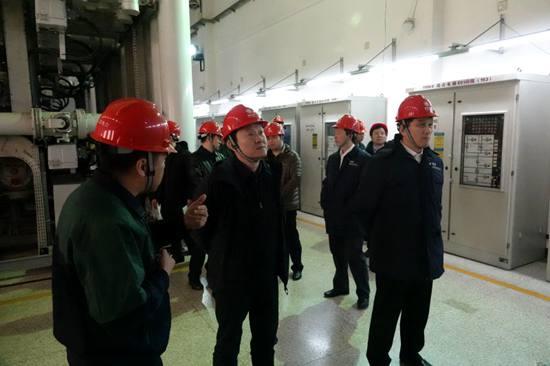 北京市城管委检查全国两会电力供应保障工作