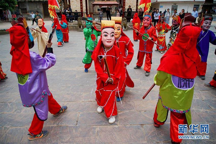 江西萍乡:传承傩文化