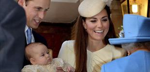 威廉王子夫妇携小王子亮相