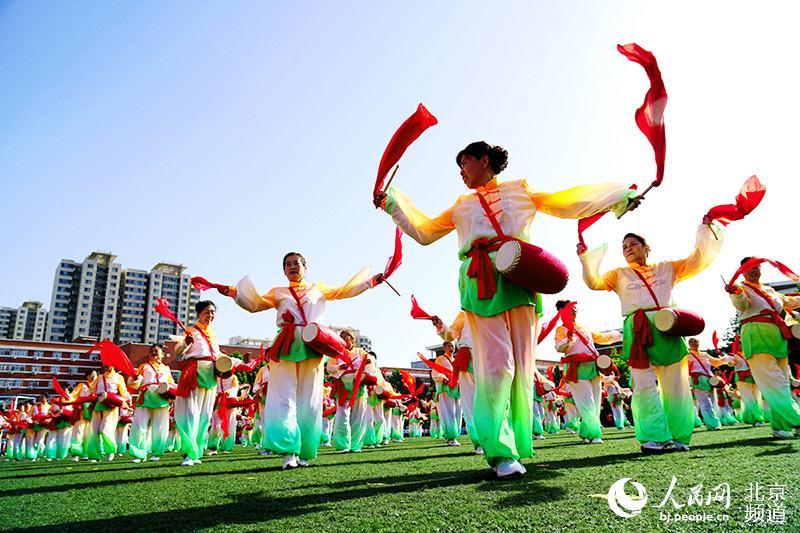 丰台卢沟桥乡全民健身运动会异彩纷呈
