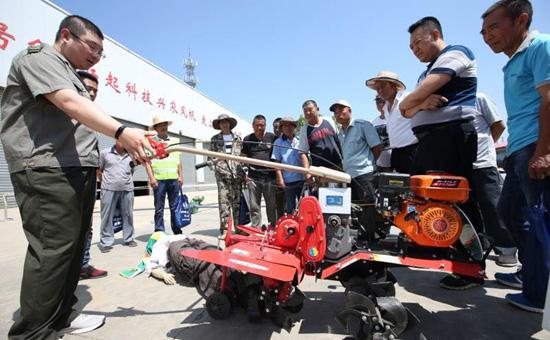 北京开展农业机械安全生产联合宣传