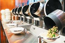 """机器人掌勺""""无人餐厅"""""""