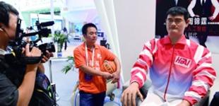 姚明机器人2.0版在向你招手2018世界机器人大会昨日在北京亦创国际会展中心开幕,大会将持续至19日。