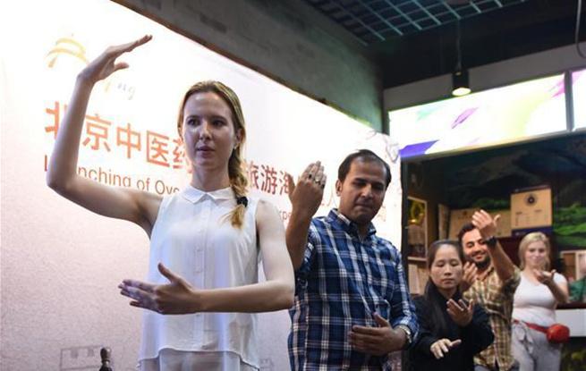 外国友人来京体验中国文化