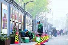 北京核心区375条道路路灯架空线入地