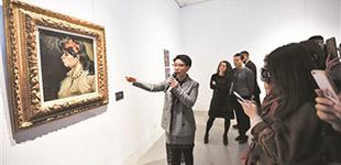 莫奈梵高作品来京展出预计总成交逾1亿美元的印象派及现代艺术大师作品亮相佳士得北京空间,进行为期两天的预展。