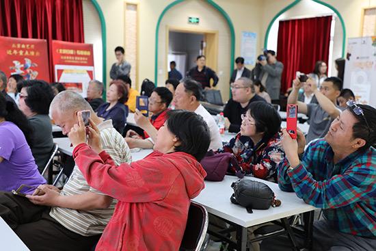 京演集团十周年北京曲艺团公众开放日让市民过足曲艺瘾