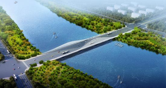 京津冀一体化观摩会走进副中心广渠路东延项目助力花园都会确立