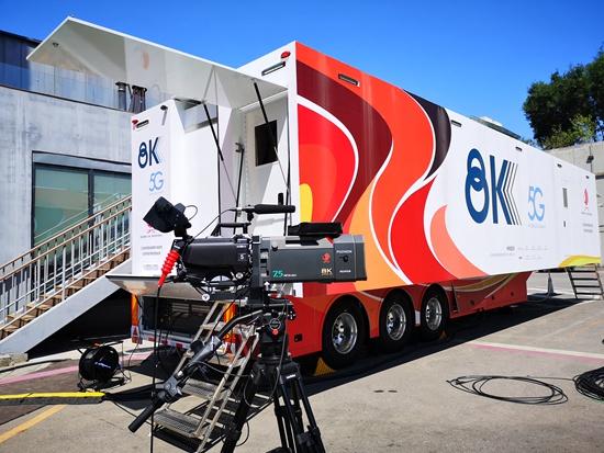 <b>我国首次实现5G+8K技术在国际重大赛事中的示范应用</b>