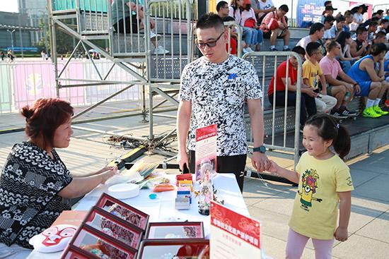 北京旅游咨询亮相2019篮球世界杯球迷区活动
