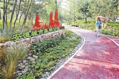 """1.6公顷安德城市森林公园正式开放 打造环保""""海绵绿地"""""""