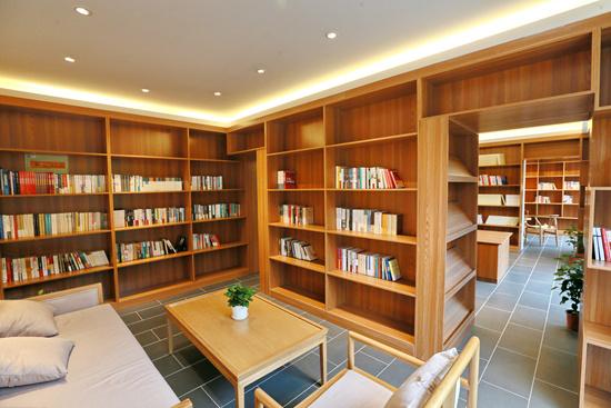 """北京门头沟斋堂镇马栏村""""红色记忆""""书屋正式对外开放"""