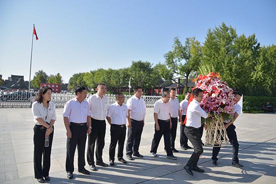 丰台区南苑乡组织参观中国抗日战争纪念馆