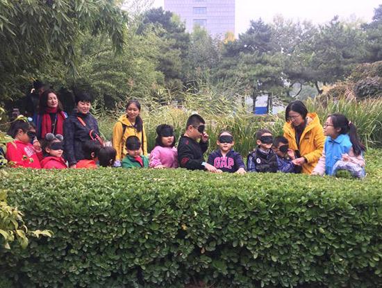 """<b>西城妇联""""幸福家庭·周末亲子课堂"""":拥抱自然 体验成长</b>"""