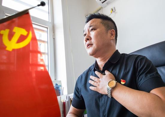 张�@制:打造服务型党组织推动社区自治新模式