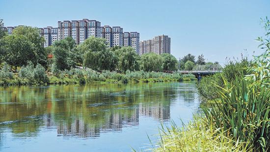 凉水河亦庄段变身记近日闹热闹,凉水河(经开区段)示范河湖建设通过水利部合胨�:铀�利委员会验收分解成,获全国示范河湖称号禁一呆。