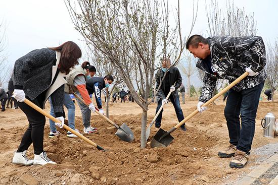 北京延慶區開展首都義務植樹日活動積極推進冬