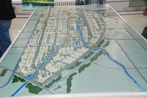 组图:通州新城展厅