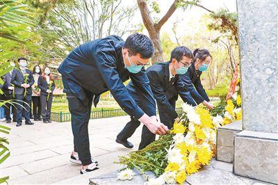 北大清明公祭追忆革命先烈推英烈不朽,薪火百年纪念展