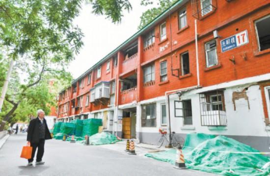 焦点区内首个危旧楼房改建试点签约100%