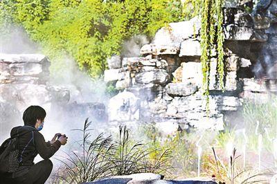 """北京地坛园外园重装开园 增添设施满足""""一老一小""""游园需求"""